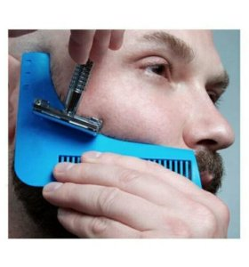 Гребень для модельной стрижки бороды