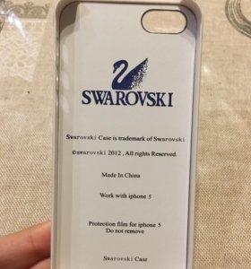 Чехол для iPhone Swarovski