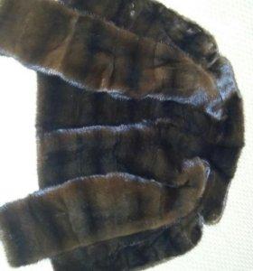 Шуба норковая-полушубок норковый