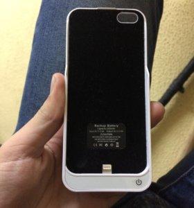 Чехол зарядка на айфон 5/5s/SE