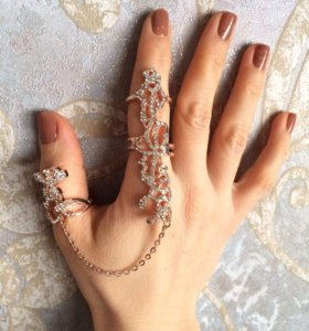 Новое кольцо на 2 пальца