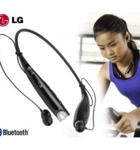 Новые беспроводные наушники LG bluetooth гарнитура