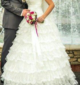 Свадебное платье + болеро в подарок