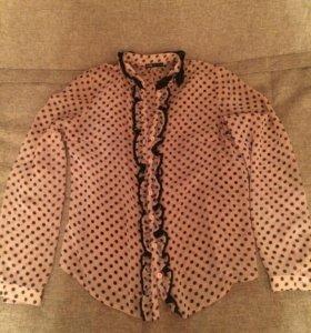 Блуза нежно розовая