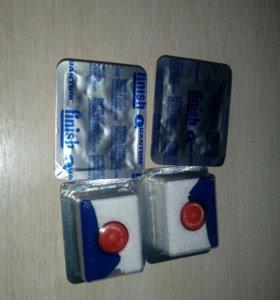 Таблетки 3 в1 для посудомоечной машины Финиш.