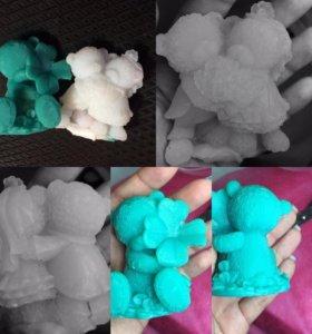 Формы для мыловарения -3D силикон