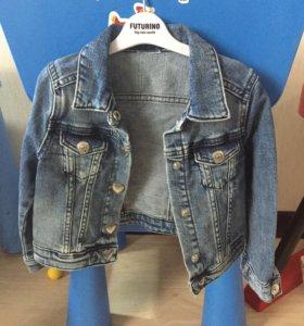 Джинсовая куртка , 98
