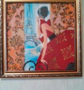 """Картина """"Окно в Париж"""""""