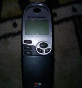 Старинный телефон Motorola