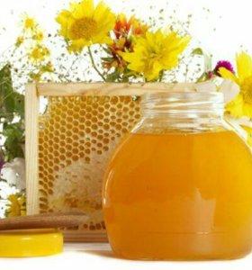 Мёд башкирский цветочный