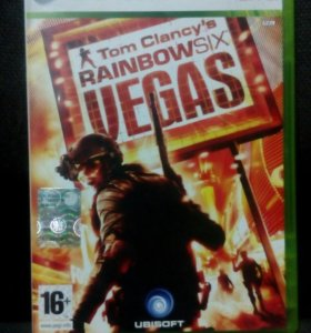 Tom Clancy's rainbow six Vegas на Xbox360