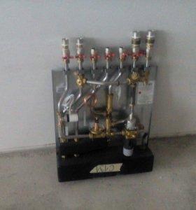 Блочный тепловой пункт-скоростной водонагреватель