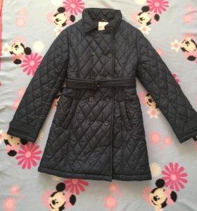 Пальто стёганое