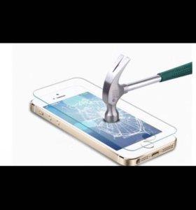 Защитное стекло iPhone 5-5s