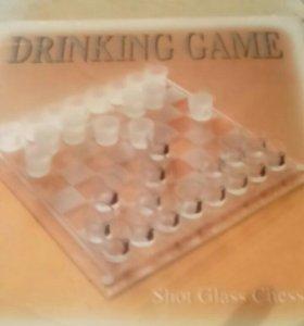 Шашки-шахматы сувенирные