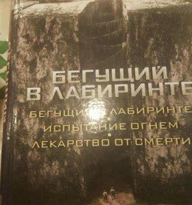 """Книга Джеймса Дэшнера ,, Бегущий в лабиринте """""""
