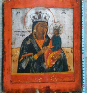Икона 19 век Богородица Споручница Грешников.