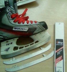 Хоккейные коньки bauer vapor x 5.0