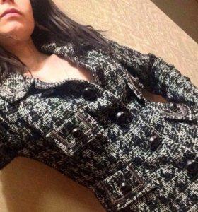 Пиджак шерстяной новый размер 36
