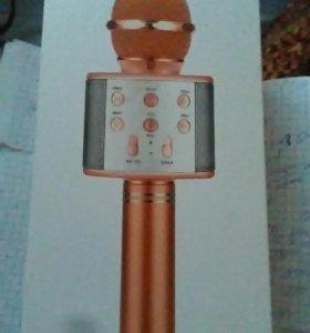 Караоке микрофоны с колонкой,usb Q9