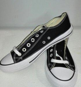 Кеды Converse All Star муж чёрные 0010