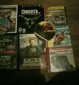 Разные игровые диски все по 100рублей