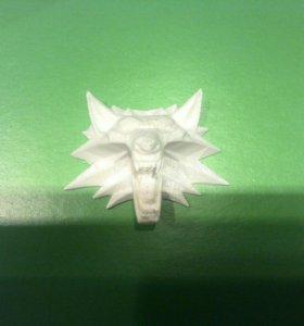 """Волк из игры """"Ведьмак 3"""" 3D принтер"""