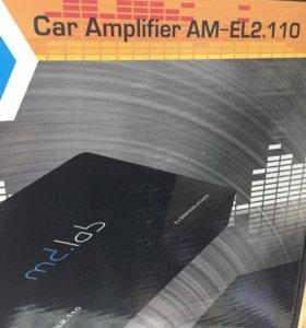Усилитель 2 канала мд лаб am-el2.110