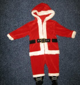 Новогодний костюм санты (Mothercare) 80 см