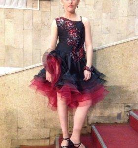 Бальное платье. Латина. Юниоры 2
