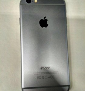 iPhone 6+space gray 64gb