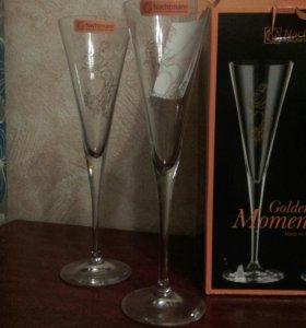 Прекрасный набор фужеров для шампанского Nachtmann