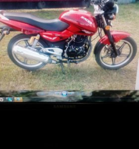 Мотоцикл RASER 200