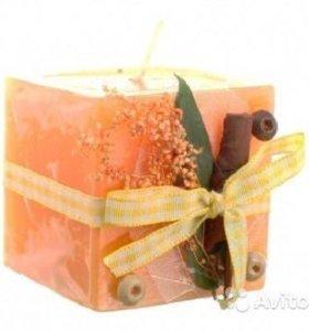 Новая свеча подарочная Miolla