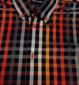 Продам новую фирменную хлопковую рубашку оригинал