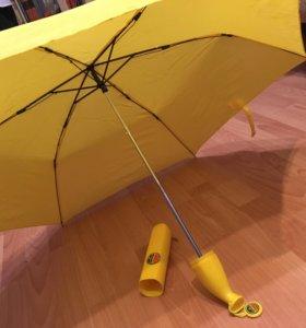 Не обычный зонт.  Детский))