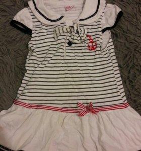 Платье и футболки