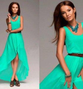 Новое шифоновое платье