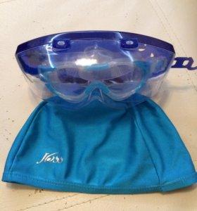 Шапка и маска в бассейн для малышей 🐣