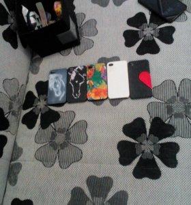Чехлы для айфона 4