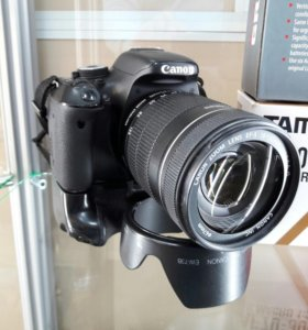 Canon 600D + 18-135 mm + 70-300 mm