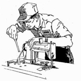 Ремонт швейных машинок на дому