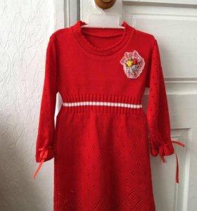 Детское платье 2-4года