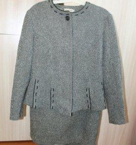 Костюм-юбка и пиджак