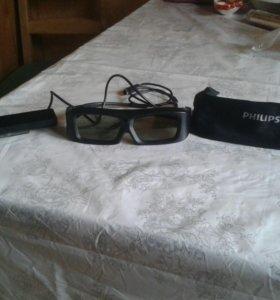 3D очки+ 3D передатчик