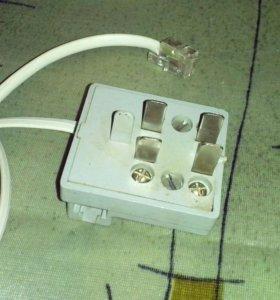 Провод телеф.3 метра