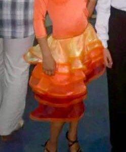 Бально-спортивное рейтинговое платье Ю1 латина