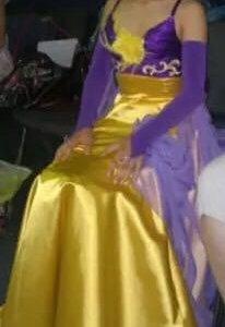 Рейтинговое платье Стандарт Ю1