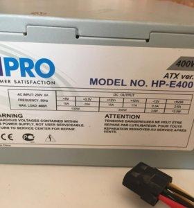 Блок питания HIPRO 400W