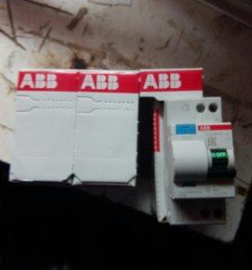 Автоматические выключатели с УЗО и автоматы